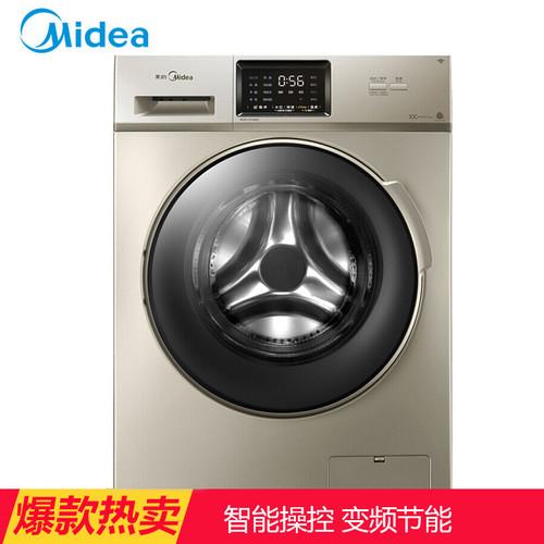 美的(Midea)MG100-1431WDXG 10公斤滚筒洗衣机