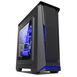 航嘉(Hunekey)暗夜精灵3黑 大侧透,背部走线设计,顶部支持双风扇位,USB3.0快速数据传输