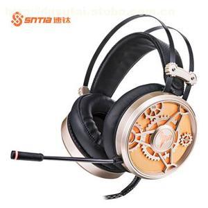 速钛V6头戴式有线耳机游戏电脑PC电竞降噪耳机