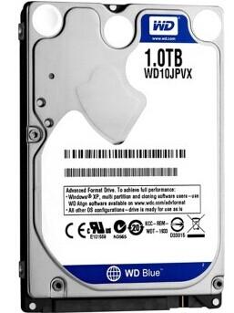 西部数据 WD10JPVX 5400转8M SATA6Gb 笔记本硬盘