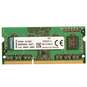 金士顿(kingston) DDR3 1600 笔记本内存条 兼容1333