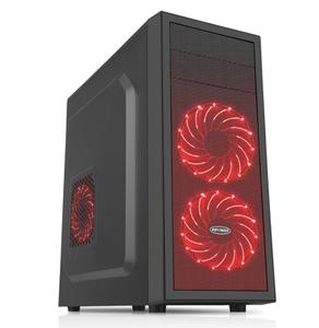 赢派 明朗1钢化玻璃电脑机箱亚克力大侧透/支持ATX主板背线长显卡高CPU散热器水冷 霸业黑